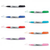 Rotuladores permanentes de punta fina Sharpie Fine - Packs