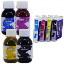 Sistema rellenable con tintas de sublimación para Epson WF7110