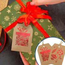 Tarjetas de Navidad para colgar