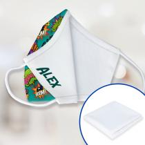 Tissu intérieur pour masques de protection avec filtre antibactérien - 65% polyester / 35% coton