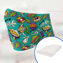 Textile pour sublimation avec filtre antibactérien - Microfibre
