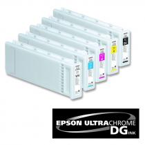 Tinta UltraChrome DG para impresora textil Epson SC-F2000 en cartucho 600 ml