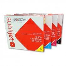 Tinta Sublijet para impresoras Ricoh SG 3110DN y SG 7100DN