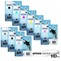 Tintas Epson UltraChrome HD para Plotter de impresión fotográfico Epson SC-P600