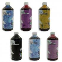 Tintas para Sublimación InkSub en botella