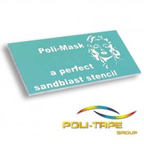 Vinilo Sandblast o chorro de arena Poli-Mask