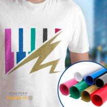 Vinilo textil Poli-Flex® Image Glitter de Poli-tape