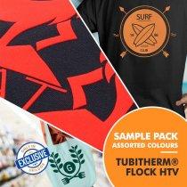 Tubitherm® Flock Heat Transfer Vinyl - Sample Pack