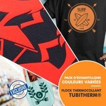 Film thermocollant Flock Tubitherm® - Pack d'échantillons