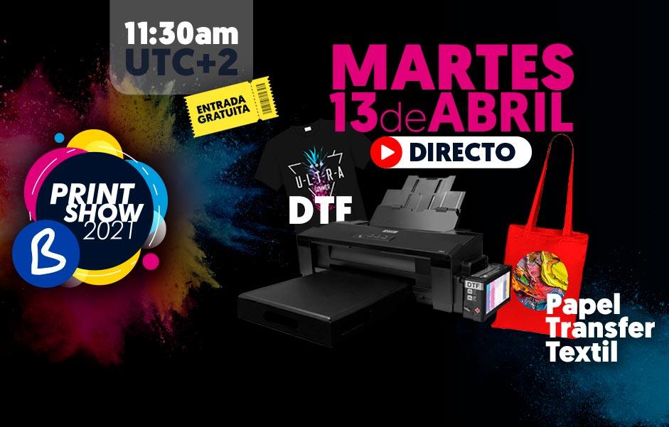 B Print Show 2021 - Martes 13