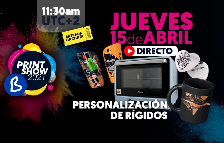 B Print Show 2021 - Jueves 15