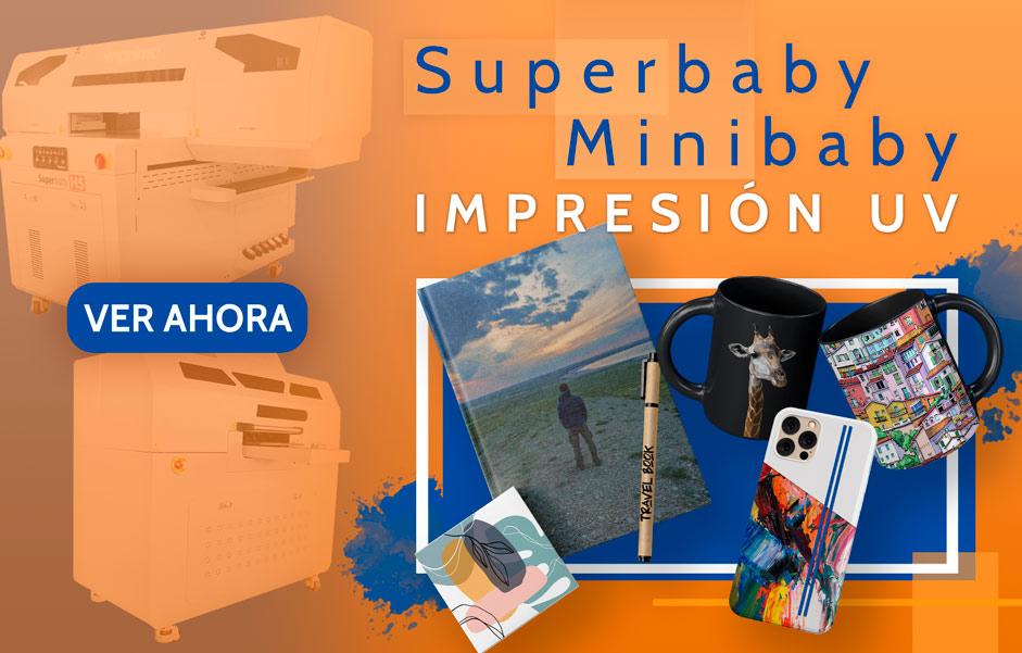 Superbaby y Minibaby - Impresión UV