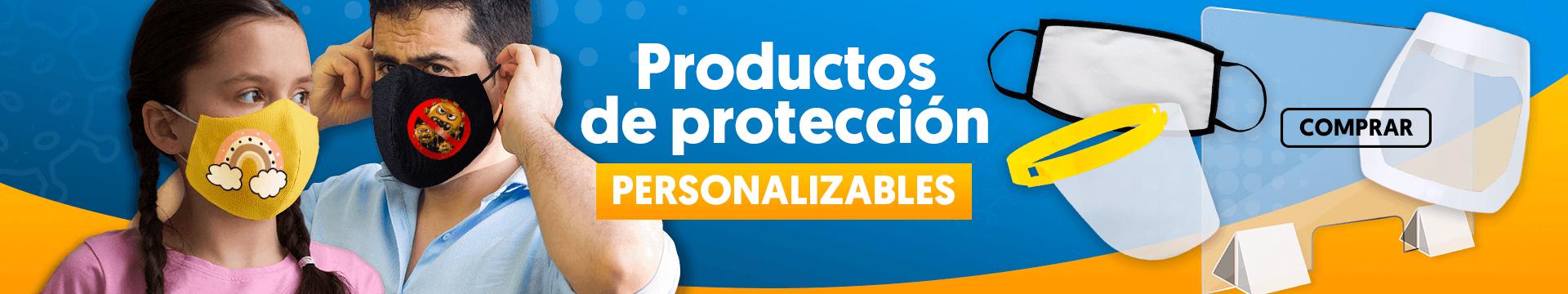 Productos de protección personalizables