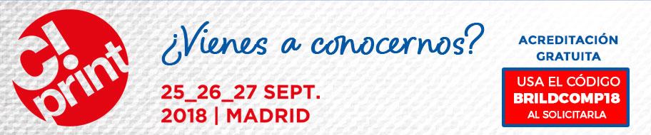 Como cada año estaremos presentes en la feria de la personalización más grande e importante de España. No puedes perdértelo porque este año vamos cargados de novedades!! Puedes solicitar ya tu acreditación gratuita. Recuerda que la Feria se celebrará en el Pabellón de cristal de la Casa de Campo en Madrid los próximos 25, 26 y 27 de septiembre. ¡Te esperamos!