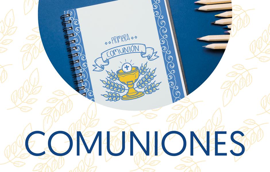 Personalizables para Comunión