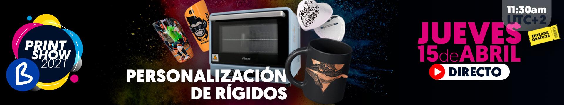 Directo Personalización de rígidos - Jueves 15