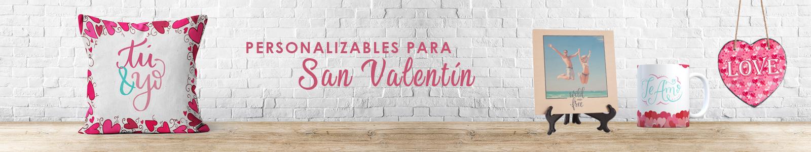 Personalizables para San Valentín
