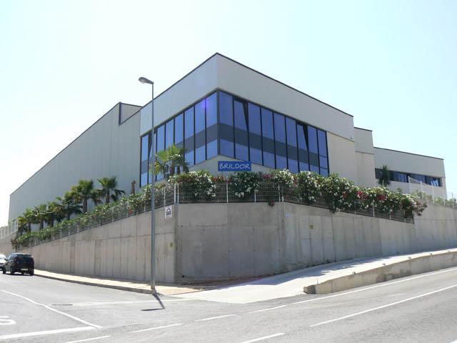 Vista de las oficinas de la empresa Brildor en Benimarfull, Alicante