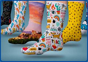 ¡Calcetines personalizados! Ideas para sublimarlos