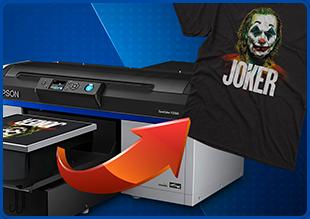 Impresora de camisetas Epson F2100. Elige la mejor.