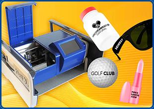 Impresora de rígidos con tintas UV para personalización
