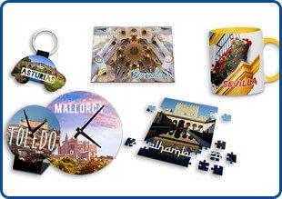 El gran mercado del turismo y los souvenirs