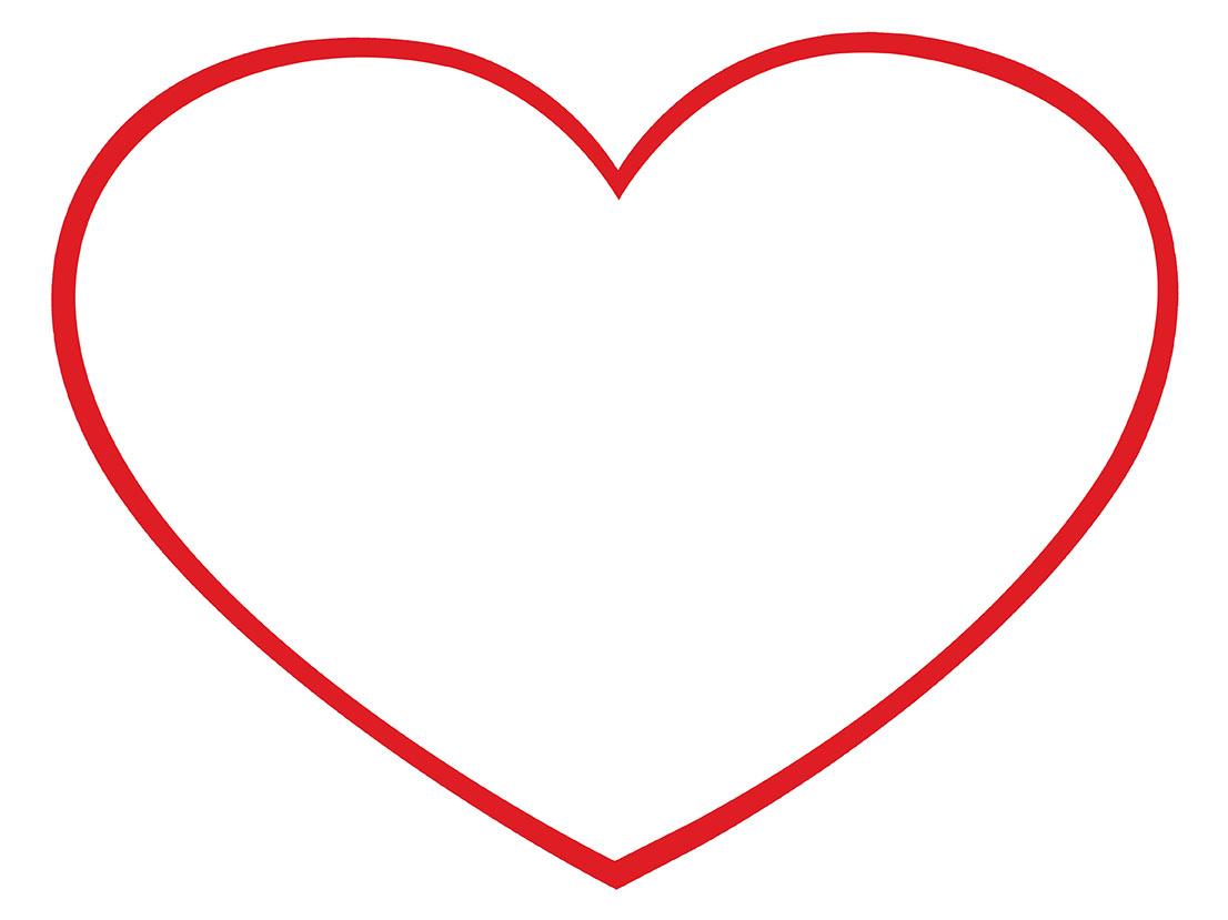 Descárgarte esta plantilla para ayudarte a imprimir tu funda para cojín  corazón 45 x 38 cm (.jpg - 95 Kb)