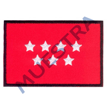 Ejemplo parche bandera