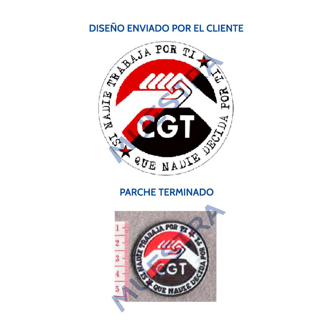 Ejemplo parche CGT