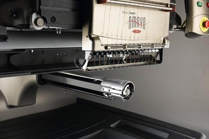 Brazo inferior cilíndrico de la máquina de bordar Amaya