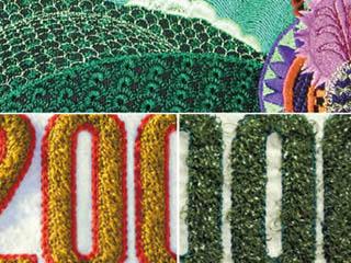 Efecto bordado con la máquina de bordar Amaya