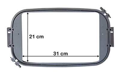 Bastidor rectangular para Máquina de bordar COS W 901