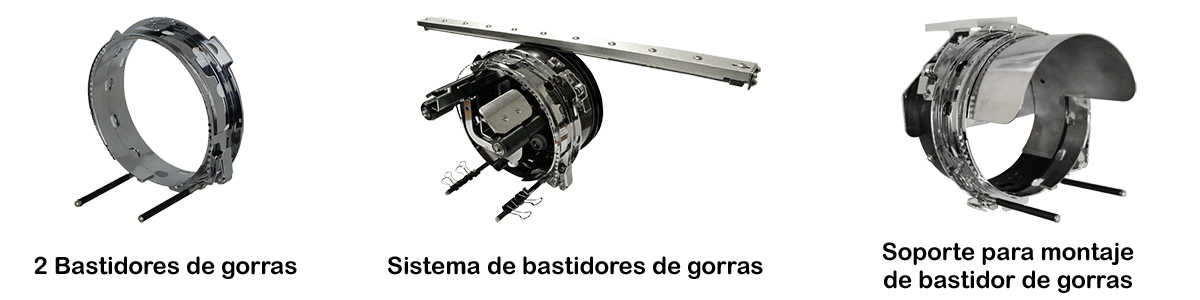 Sistema de bordado para gorras Máquina de bordar COS W901