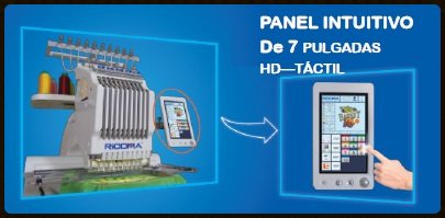 Ricoma EM10 - pantalla táctil