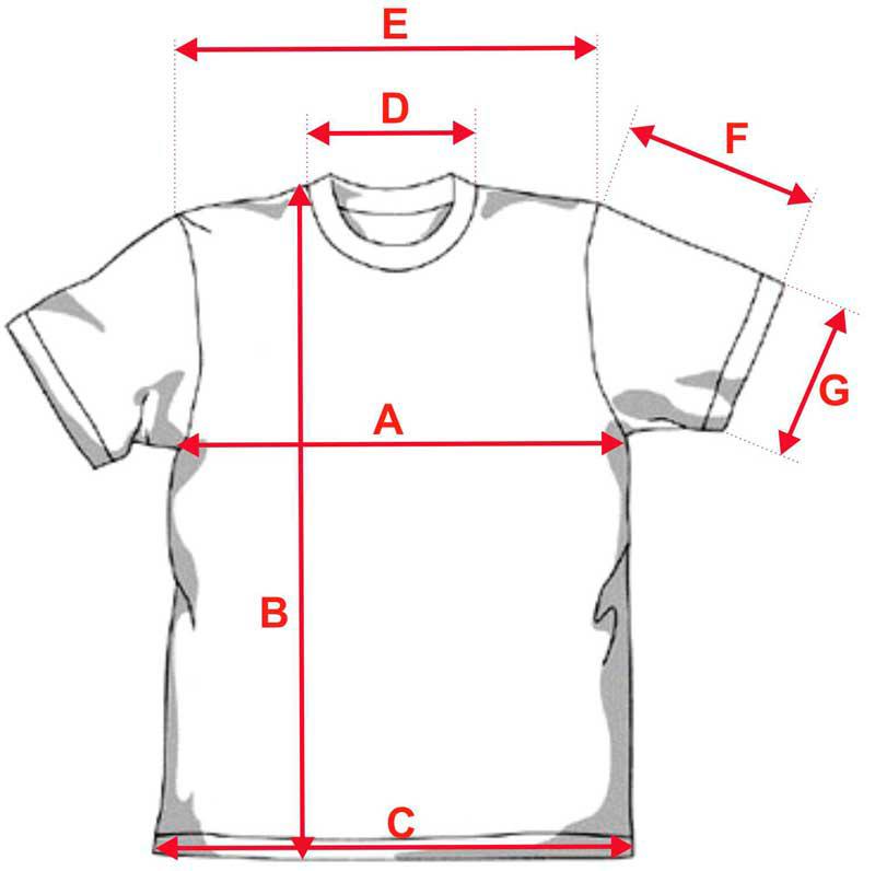 Esquema camiseta Bio de algodón orgánico