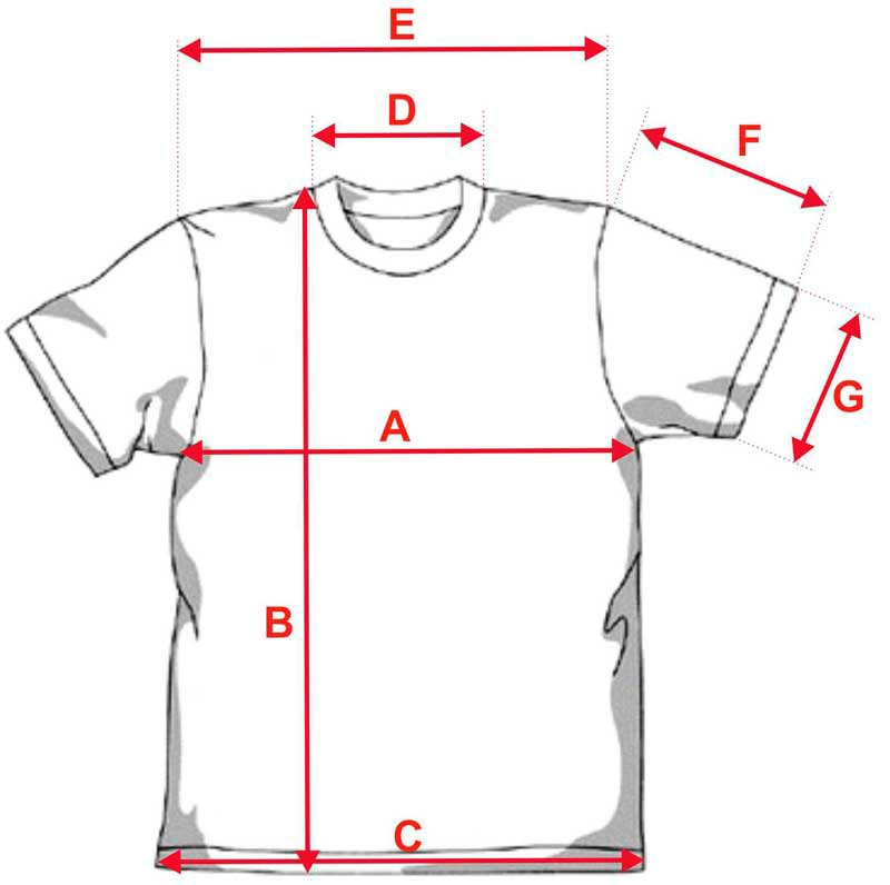 Esquema camiseta poliester sublimacion 140g tacto algodón