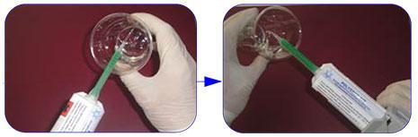 Instrucciones uso gota de resina Polidrop - Paso 4