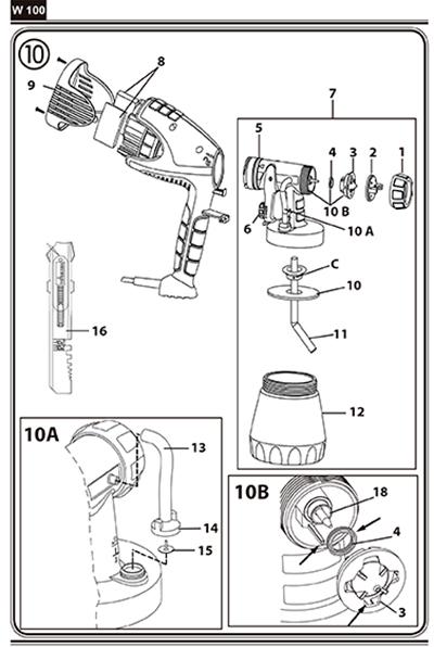 Instrucciones de colocación de los recambios