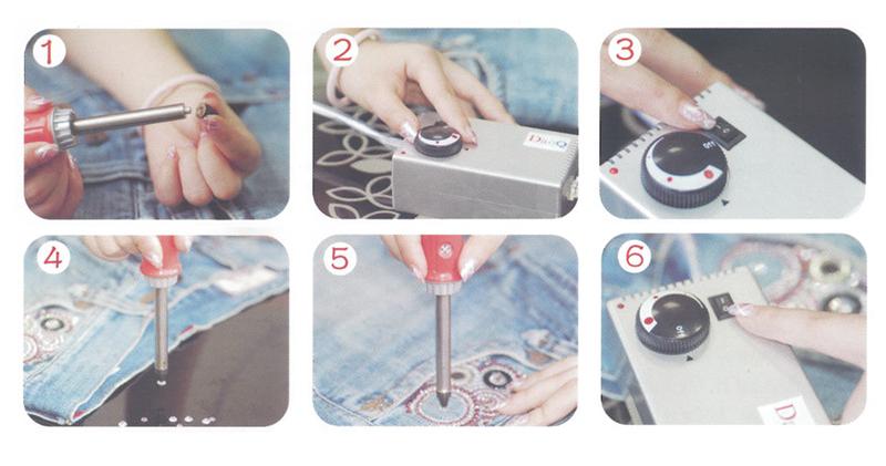 Instrucciones Aplicador manual de pedrería con bomba de succión