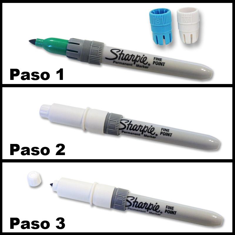 Instrucciones uso soporte para bolígrafos
