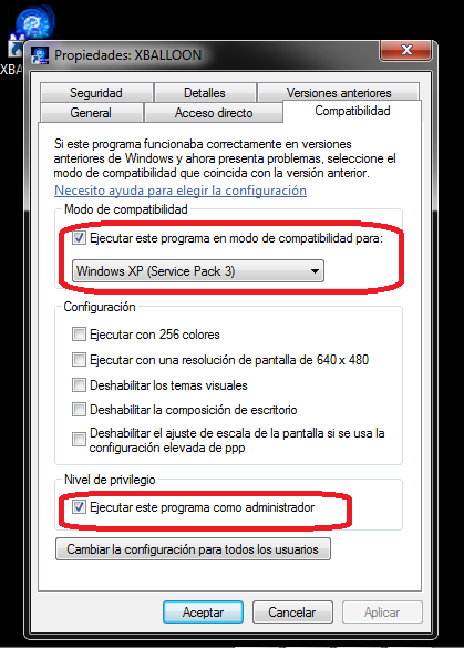 Instalación software de globos - paso 3
